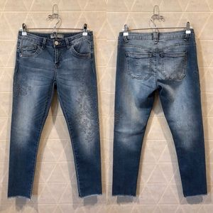 WIT & WISDOM Embroidered Ankle Skimmer Jeans 2